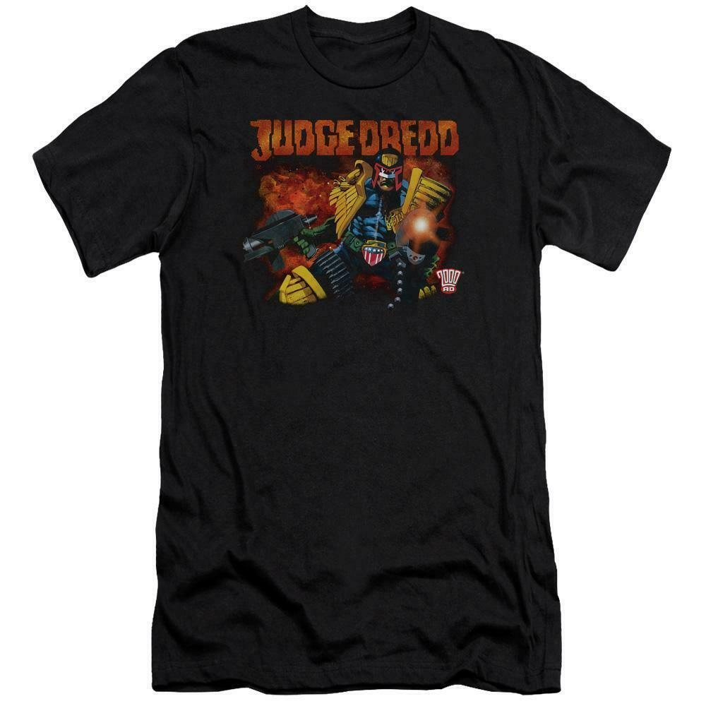 Judge Dredd 2000 AD T Shirt  vintage 70s 80s retro comic book graphic tee JD108