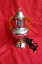 Vtg Lehman Brothers Electric Percolator Coffee Maker Art Deco Bakelite Handles - $29.70