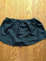 Island Escape Black Skirtini Swimwear Bottoms Size 18W image 2