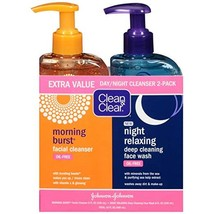Clean & Clear Day & Night Face Wash with Citrus Morning Burst Facial Cle... - $14.53