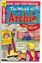 Archie Giant Series #504 1981-World of Archie-Betty and Veronica-VG/FN - $20.95