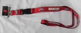 Ncaa Nwt Keychain Lanyard - Ohio State Buckeyes - Current Logo & Team Name - $7.95