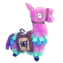 FORTNITE Supply Llama Pinata Plush Toy 7'' H 6'' L Purple Multicolor Saddle - $12.55