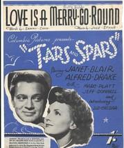 Love Is A Merry Go Round - vintage sheet music - (Cahn/Styne) - $7.57
