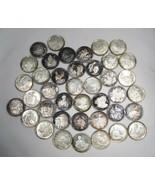 Vintage Civil War History 999 Fine Silver Rounds Medals 40ct. 25 Grams E... - $1,340.64