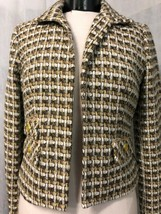 Chico's Women's Tan and Brown Tweed Blazer Size 0 (4) NWT - $107.91