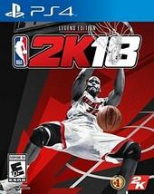 NBA 2K18: Legend Edition-PlayStation 4 FREE shipping Worldwide - $83.17