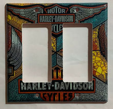 Harley-Davidson MotorCycles Light Switch Outlet Wall Cover Plate Home decor image 9