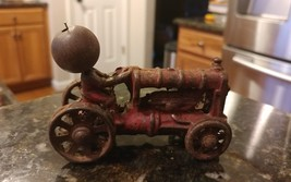 1930's Cast Iron Ford Tractor Farm Toy  Fordson... - $49.91