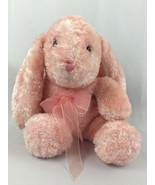 "DanDee Stuffed Easter Bunny Rabbit Pink Iridescent 14"" Stuffed Animal Toy - $14.70"