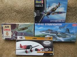 Model aircraft 4 Kits - $13.00