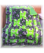 Seattle Seahawks Fabric Patchwork Teen Quilt  - $58.00