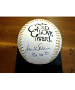 PAUL BLAIR 8 X GOLD GLOVES ORIOLES YANKEES SIGNED AUTO GG BASEBALL JSA B... - $118.79