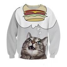 Cat All Over Print Timeless 3D Sweatshirt - $36.58