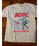 Vintage 1988 ACDC Heat Seeker World Tour Rock Concert t-shirt gildan rep... - $22.99+