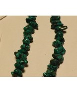 """Dark Turquoise Nuggets Two 16"""" Strands 169 pieces Drilled Jewelry Suppli... - $14.99"""