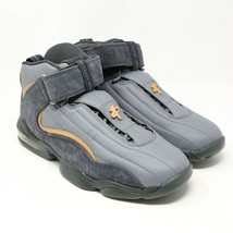 Nike Air Penny IV 4 sz 9.5 Wolf Grey Copper Coin 864018-002 Basketball i... - $123.74