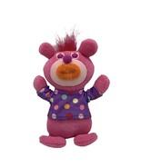 Sing a Ma Jig Plush Singing Fisher Price Mattel Pink Orange Lip Purple P... - $13.81