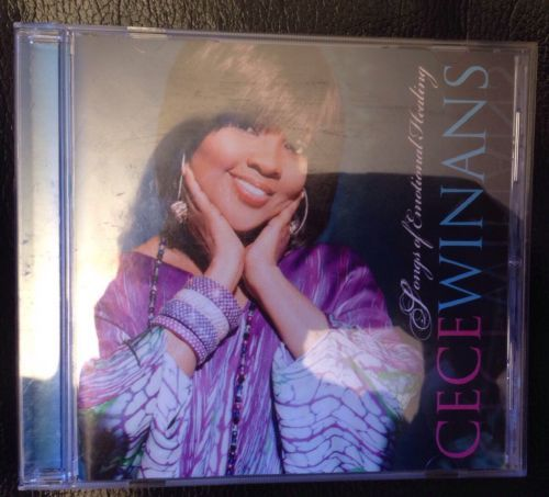 Songs of Emotional Healing- CeCe Winans CD,  Pure Springs Gospel Free Shipping