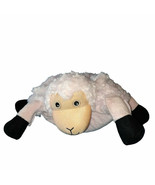 2010 Zoobies Lola The Lamb Blanket Pillow Pink Sheep Plush  - $19.80