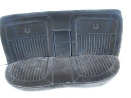 1989 1988 1987 BROUGHAM REAR SEAT OEM USED BLUE VELOUR ORIGINAL CADILLAC - $742.50