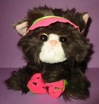 Vintage Tyco Kitty Kitty Kitten Kittens Plush Rattle Purr Cat Stuff Toy ... - $60.00