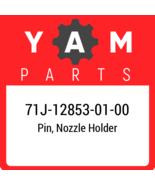 71J-12853-01  Yamaha Pin, Nozzle Holder, New Genuine OEM Part - $11.97