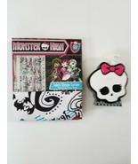 Monster High Doll  Shower Curtain & Soap Dispenser  NEW - $19.30