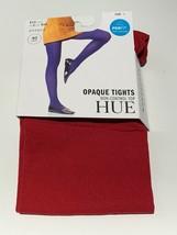 HUE Opaque Non-Control Top Tights Deep Red - $4.49