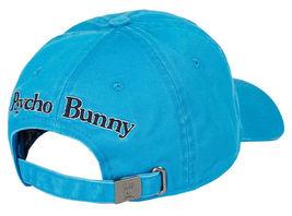 Psycho Bunny Men's Cotton Embroidered Strapback Sports Baseball Cap Hat image 11