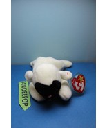 TY Retired Beanie Baby Chops White Lamb with tags Ty - $13.85