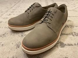 CLARKS Size 10 Teadale Rhea Olive Nubuck Platform Oxford Sneaker Lace Up EUC! C5 - $54.44