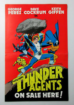 Original 1984 Thunder Agents poster 1:Cockrum art/Wally Wood/George Perez/Giffen - $39.99