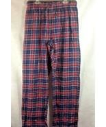 CHAPS Men's Sleepwear Pants Plaid Sz M 100% Cotton - $10.99