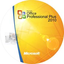 Microsoft Office 2010 Professional Plus PC License Key 3 PC'S  Fast Deli... - $35.00
