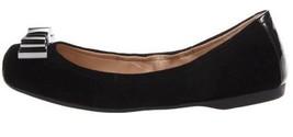 Women's Shoes Jessica Simpson MONETAH Slip On Ballet Flats Suede Black - $44.99