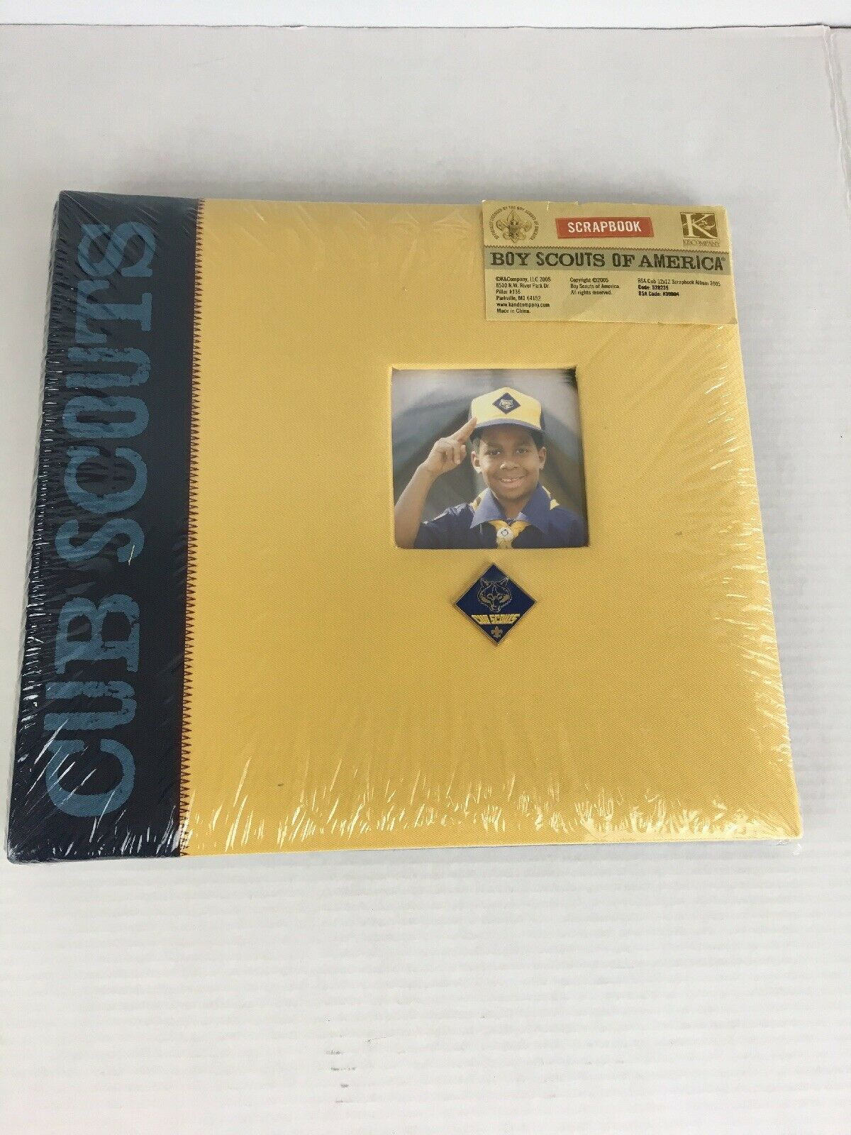 Primary image for New Sealed Cub Scouts 12x12 Scrapbook Boy Scouts of America K&Company