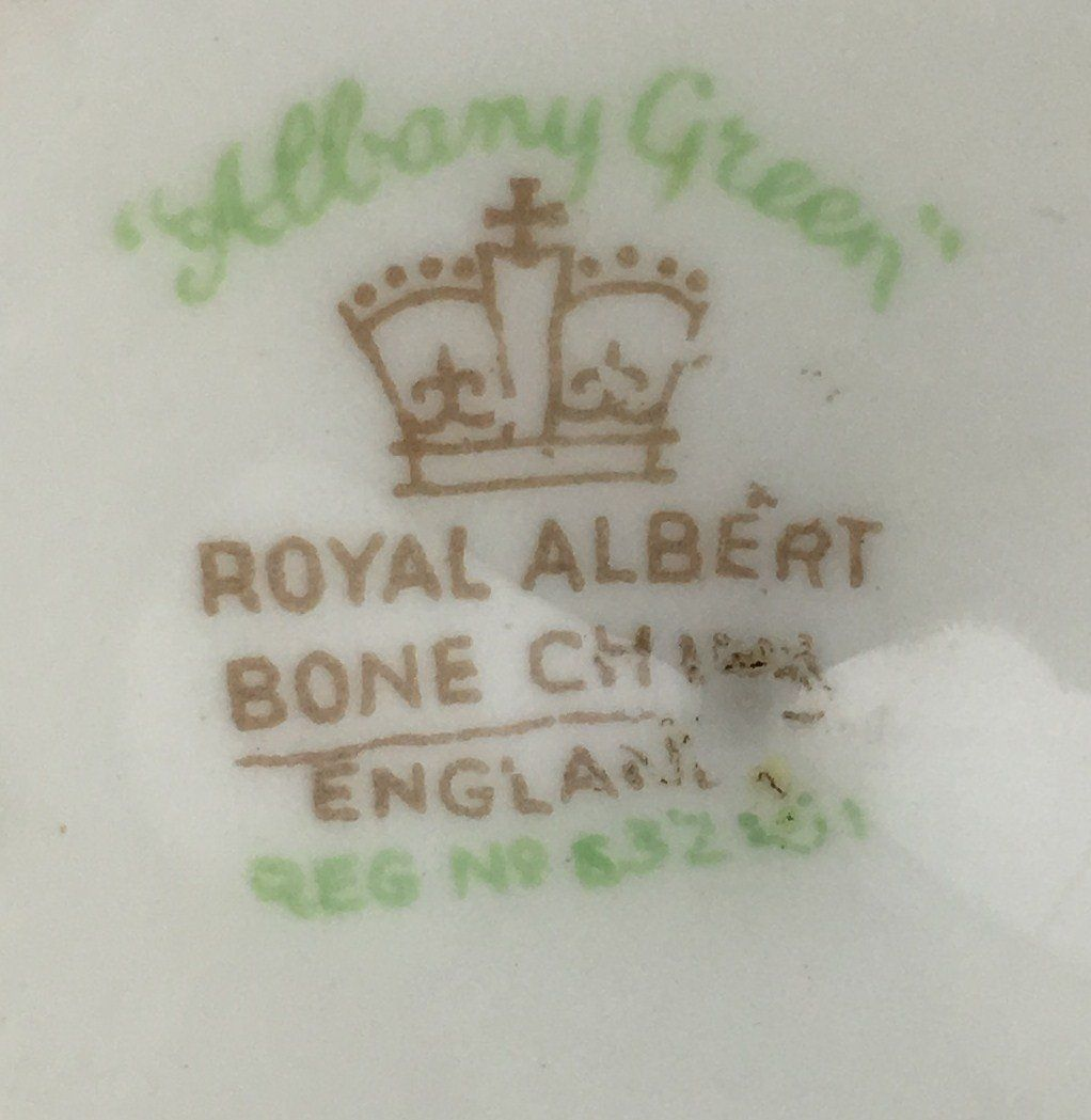 Royal Albert Albany Green Egg Cup