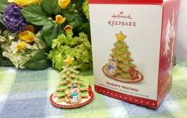 Hallmark Season's treating's ornament 2015 regular one - $88.85