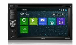 DVD CD GPS Navigation Bluetooth Multimedia Radio and Dash Kit for Honda CRV 2015 image 4