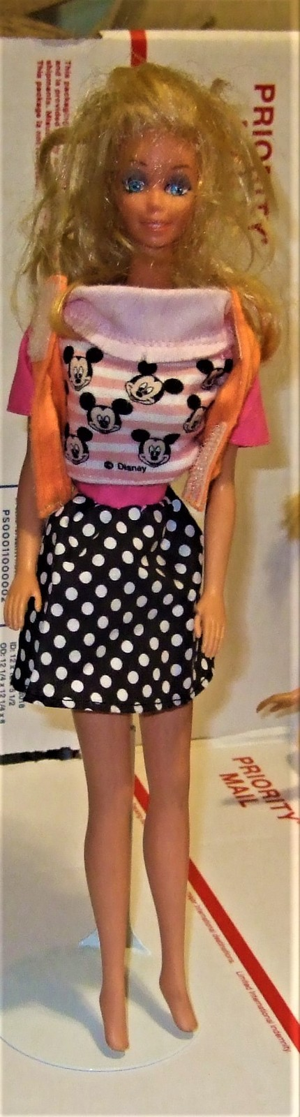 Primary image for Barbie Doll - Mickey Mouse outfit