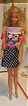 Barbie Doll - Mickey Mouse outfit - $10.00