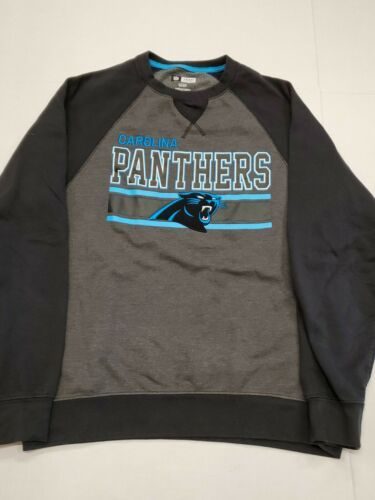 Primary image for Carolina Panthers Long Sleeve Gray Black Sweatshirt Small Excellent Condition
