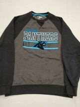 Carolina Panthers Long Sleeve Gray Black Sweatshirt Small Excellent Cond... - $17.81