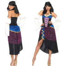 Halloween Romany Fancy Dress Cosplay Costume - $35.31