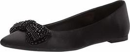 Jewel Badgley Mischka Women's ZANNA Shoe, black satin, 5.5 M US - $43.10