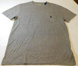 Polo Ralph Lauren short sleeve pocket t shirt S Classic Fit 248018 Grey ... - $24.49