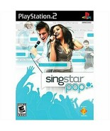 SingStar Pop - PlayStation 2 [Video Game] - $7.91