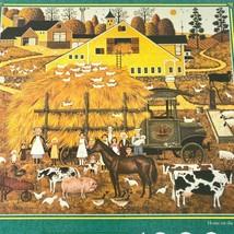 Milton Bradley Charles Wysocki Home on the Farm 1000 Piece Puzzle NEW - $25.90