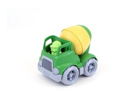 GREEN TOYS Construction Truck MIXER, Made in USA, Age: 2+